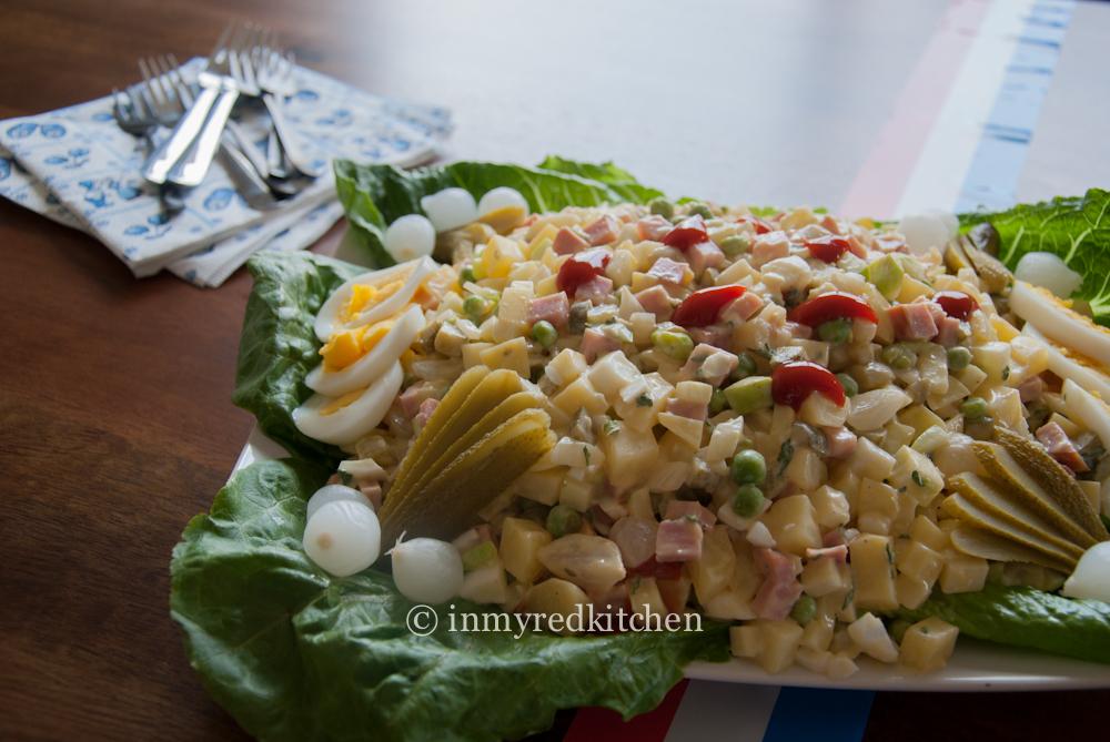Dutch Potato Salad – Huzarensalade