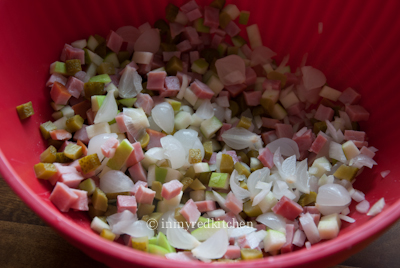 Huzarensalade bowl
