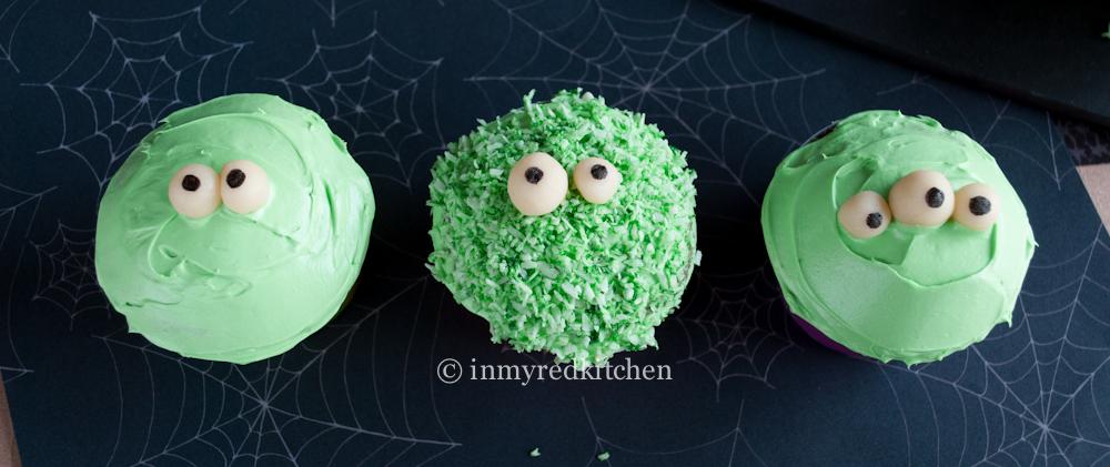 Green Monster Pandan Cupcakes 3
