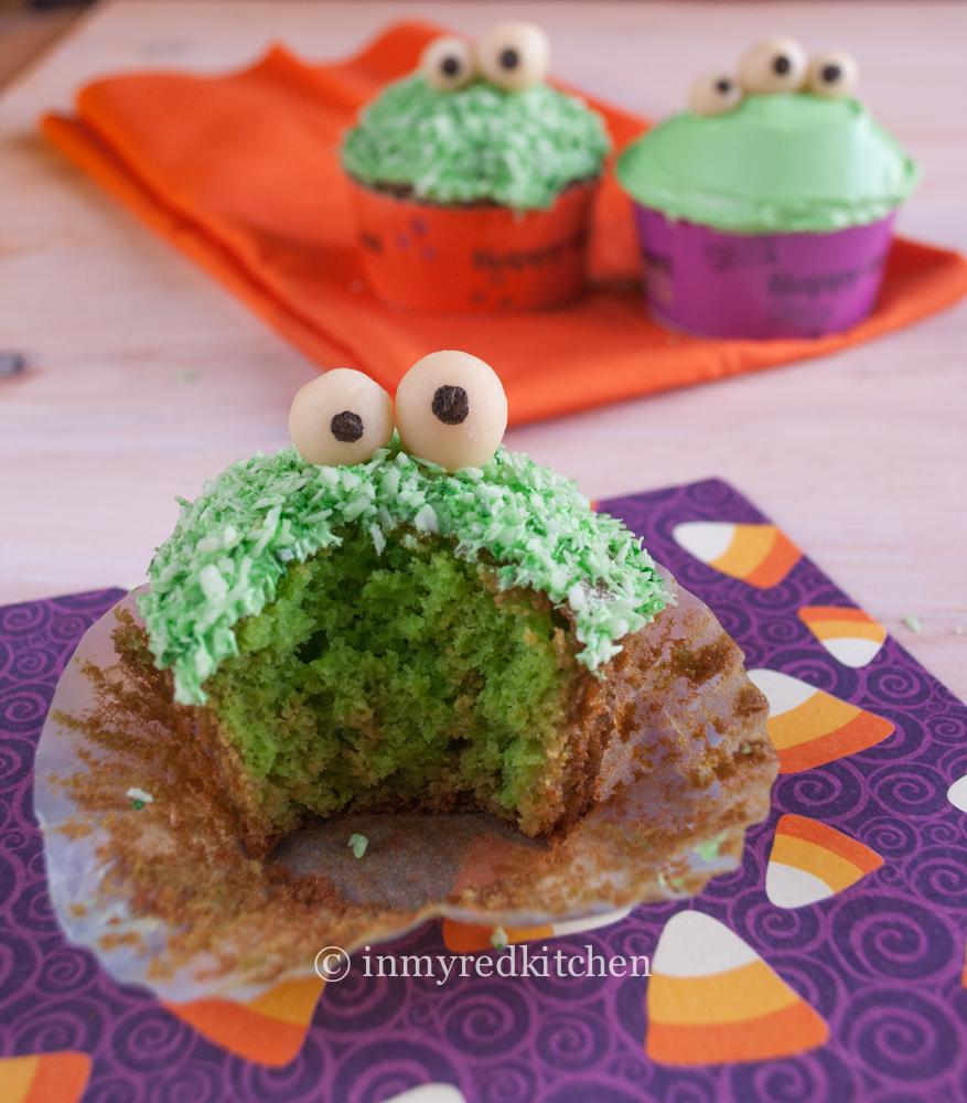 Green Monster Pandan Cupcakes 4
