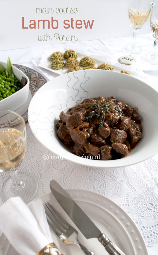 Lamb Stew With Porcini