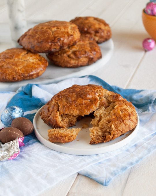 Easter brunch: maple bacon scones